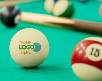 Valentine's Day Gift - Custom Personalized Pool and Billiards Cue Ball