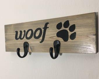 Dog Leash Holder, Dog Leash Hook, Dog Leash Hanger, Custom Pet Leash Holder, Personalized Leash Hook, Dog Gifts, Gift for Dog Lover