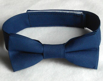 Navy Blue Bowtie - Infant, Toddler, Boys-2 weeks before shipping
