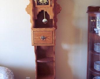 Grandfather Shelf Clock