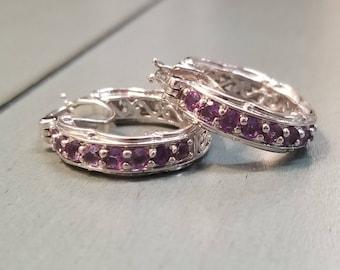 Amethyst Earrings / Amethyst Jewelry / February Birthstone / Birthstone Jewelry / Birthstone Earrings