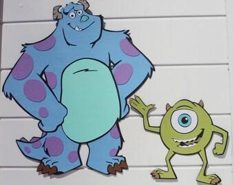 Mike & Sulley * Monsters, Inc. * Disney/Pixar