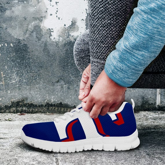 Unofficial Custom Fan Trainers Rangers Baseball Shoes White Sizes Ladies Sneakers Texas Mens SIwq6S