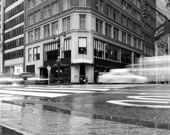 New York, New York Black and White Photography, Long Exposure Photography, Fine Art Photography, NYC, New York City