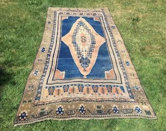 Turkish handmade rug anatolian Turkish oushak rug vintage rug handwowen nomadic rug handwowen nomadic rug handspun wool and 314x142/10'2x4'6