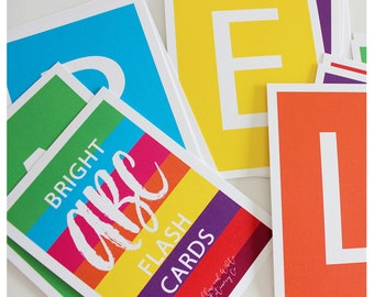 Bright ABC Flash Cards