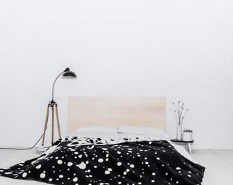 nice blanket freckles black+white