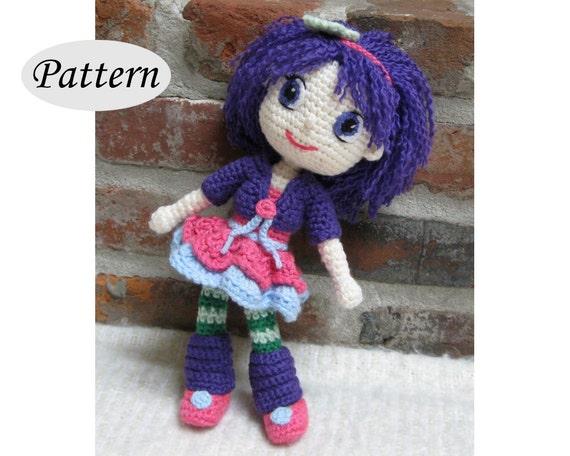 Amigurumi Pattern Dolls : Plum pudding strawberry shortcake amigurumi pattern crochet