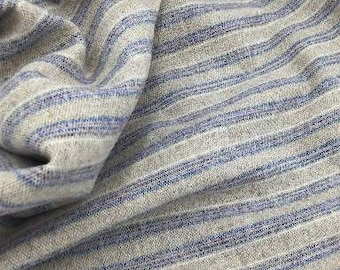 Selvedge Stripe, 100% Felted Wool Fabric for Rug Hooking, Wool Applique and Crafts