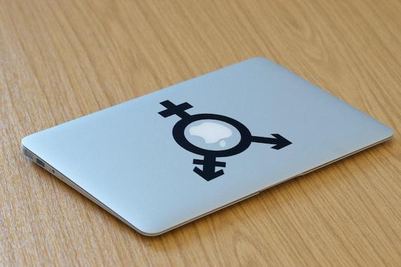 Sex Symbol Decal Sticker, Sexuality, Vinyl decals, mac, Symbols, Macbook Decal Sticker