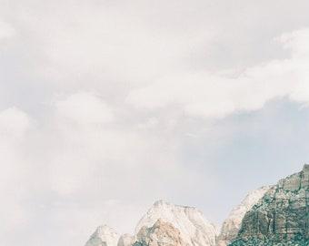 Mountain in Zion Fine Art Print