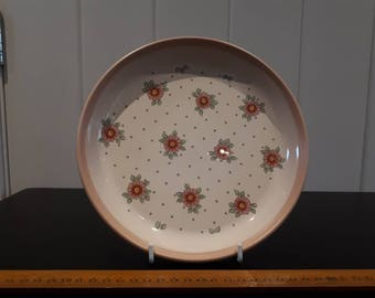 "REDUCED Hornsea ""Passion"" Design Plate, 1980s"