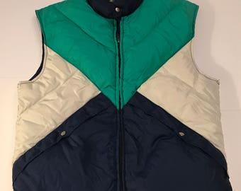 Vintage Alpine  Designs Down Vest