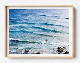 Beach Photography Print - The Big Blue - Photographic Art, Beach Art Print,  Photographic Print, Beach Art Print, Photo Print