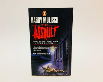 Vintage Mystery Book The Assault by Harry Mulisch 1986 UK Edition Paperback Crime Thriller