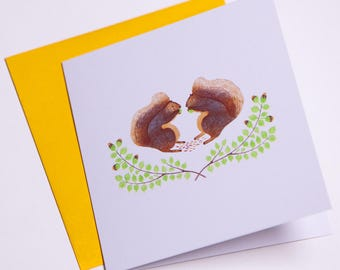 Squirrels | Greeting cards