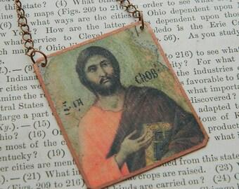 Apostle Jewelry Apostle Necklace James the Apostle Mixed media jewelry