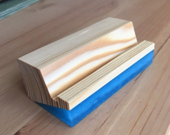 Wood Business Card Holder,Wood Desk Business Card Holder, Business Card Holder, Card Holder, Wood Card Holder
