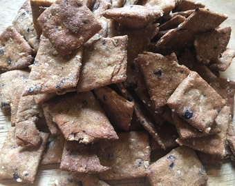 Small: Blueberry Cobbler Dog Treats