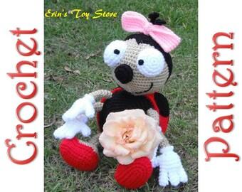 Dotsy the Ladybug a Crochet Pattern by Erin Scull