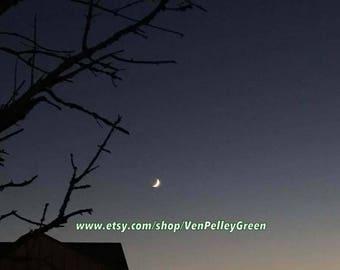 Hello Moon - Photography - Prints - Moon