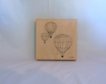 Large Co-Motion Hot Air Balloons Stamp 2169