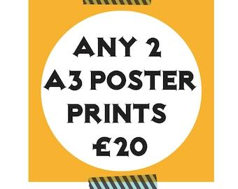 X2 A3 Print Offer