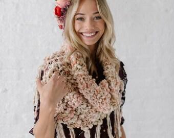 Knitting Pattern ~ Knit Cowl Pattern, Knitting Patterns for Women, Easy Knitting Patterns, Chunky Yarns, Bulky Yarns, Handspun yarn