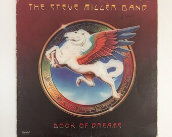 Vintage The Steve Miller Band Book of Dreams Vinyl Record LP [1977]