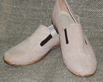 Hemp shoes for men. Made to Order HANDMADE Shoes.