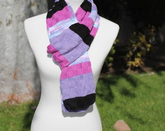 Colorful Long Scarf, Multi Color Scarf