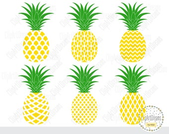 Pineapple SVG cut files, Pineapple Svg Dxf cut file, Pineapple Monogram svg, Cricut cut files, Silhouette cut files