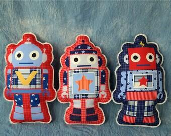 Kids Robot Toys,Boys Special Gift,Robot Plush Doll,38 cm Height,Stuffed Developmental Toys,Robot Cushion Pillow,Birthday Gift,Boy Souptoys