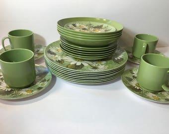 Vintage Oneida Melmac Dish Set