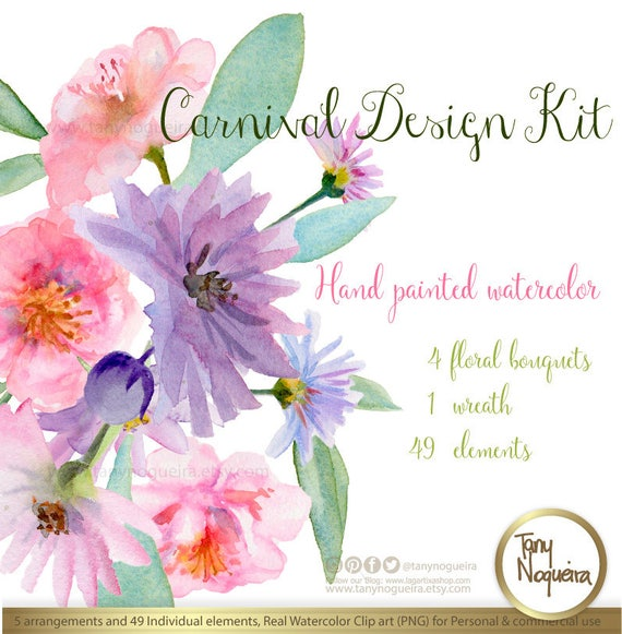 Carnival Wedding flowers Invitations Cards Quotes