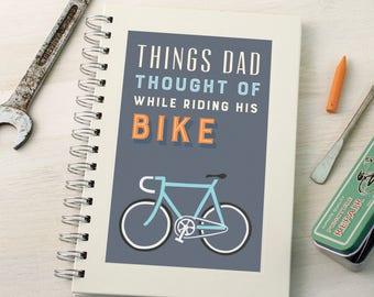 Personalised Bike Ideas Notebook