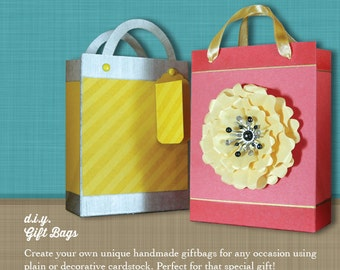 DIY Gift Bag: Instructions & Template – Create your own unique gift bag for any occasion!