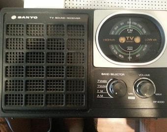 Vintage Sanyo TV Sound Receiver - RP 8330