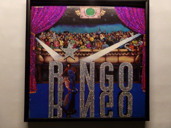 Glittered Record Album - Ringo Starr - Duit * On * Mon * Dei
