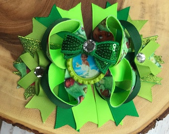 Tiana princess and the frog bow