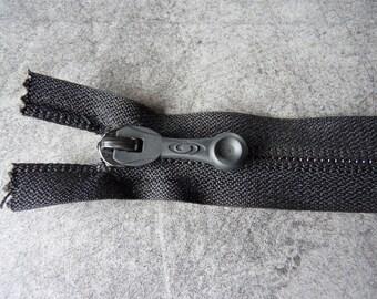 20 cm x 2.5 cm sport black invisible zipper