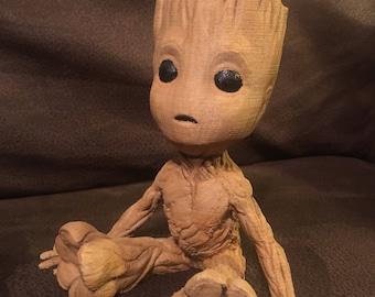 Sitting Baby Groot