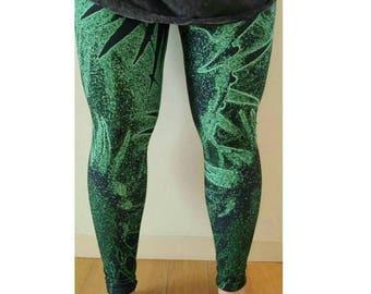 Tropical Velvet Leggings