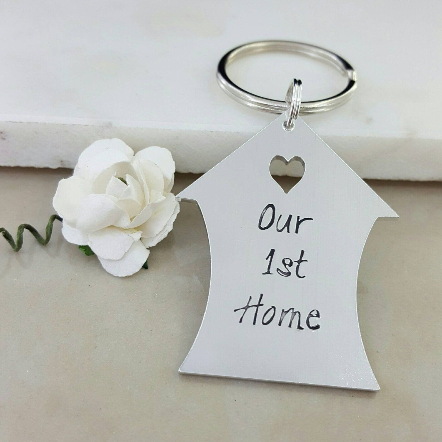 Our 1st Home Gift House Keys New Home Gift Housewarming