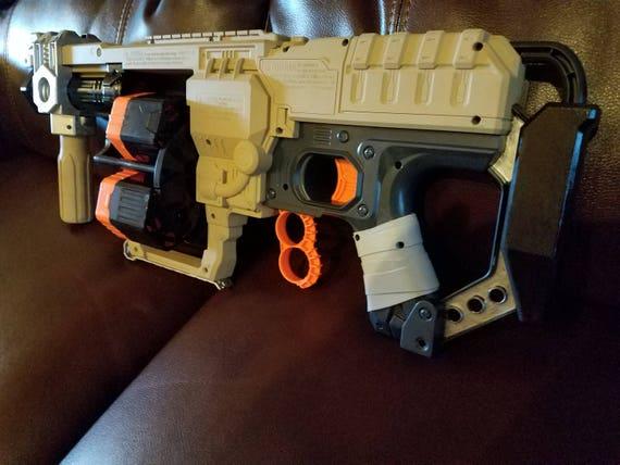 Image is loading NERF-Zombie-Strike-Doominator-Toy-Dart-Blaster-Fire-