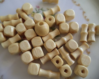 Vintage Wooden Beads