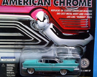 American Chrome 1957 Lincoln Premiere new on card