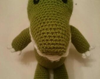Crochet Crocodile - Handmade/Amigurumi