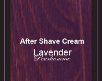 Mens Aftershave Cream          Lavender Pourhomme