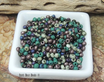 Riders of the Purple Sage Seed Bead Mix  6/0 Czech Glass  Loose Beads Purple Color of the YEAR